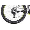 """HAIBIKE Xduro FullSeven 6.0 E-MTB fullsuspension 27,5"""" sølv"""
